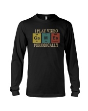 I PLAY VIDEO GAMES PERIODICALLY Long Sleeve Tee thumbnail
