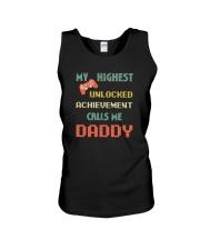 MY HIGHEST UNLOCKED ACHIEVEMENT CALLS ME DADDY Unisex Tank thumbnail