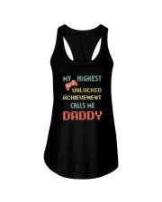 MY HIGHEST UNLOCKED ACHIEVEMENT CALLS ME DADDY Ladies Flowy Tank thumbnail