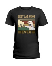BEST LAB MOM EVER s Ladies T-Shirt thumbnail