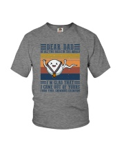 DEAR DAD OF ALL THE BALLS IN THE WORLD Youth T-Shirt thumbnail