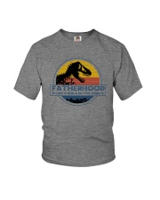 FATHERHOOD LIKE A WALK IN A PARK Youth T-Shirt thumbnail