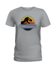 FATHERHOOD LIKE A WALK IN A PARK Ladies T-Shirt tile