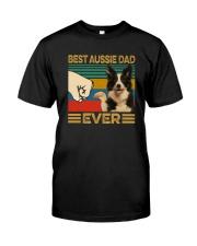 BEST aussie DAD EVER Classic T-Shirt front