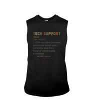 TECH SUPPORT noun Sleeveless Tee thumbnail