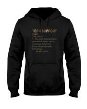 TECH SUPPORT noun Hooded Sweatshirt thumbnail