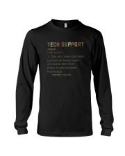TECH SUPPORT noun Long Sleeve Tee thumbnail