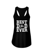 BEST DAD EVER Ladies Flowy Tank thumbnail