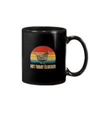 NOT TODAY CLUCKER Mug thumbnail
