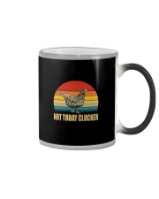 NOT TODAY CLUCKER Color Changing Mug thumbnail