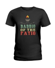 DADDIO OF HE PATIO VINTAGE Ladies T-Shirt thumbnail