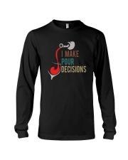 I MAKE POUR DECISIONS VT Long Sleeve Tee thumbnail