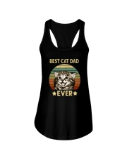 BEST CAT DAD EVERz Ladies Flowy Tank thumbnail