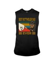 BEST Rottweiler DAD EVER Sleeveless Tee thumbnail