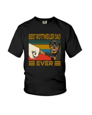 BEST Rottweiler DAD EVER Youth T-Shirt thumbnail