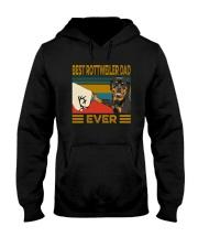 BEST Rottweiler DAD EVER Hooded Sweatshirt thumbnail