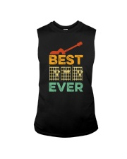 BEST DAD EVER GUITAR MUSIC Sleeveless Tee thumbnail