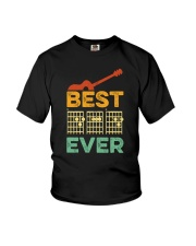 BEST DAD EVER GUITAR MUSIC Youth T-Shirt thumbnail