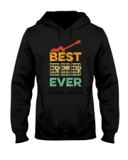 BEST DAD EVER GUITAR MUSIC Hooded Sweatshirt thumbnail