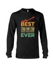 BEST DAD EVER GUITAR MUSIC Long Sleeve Tee thumbnail