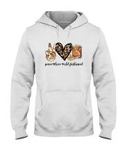 PEACE LOVE OLD FASHIONED Hooded Sweatshirt thumbnail