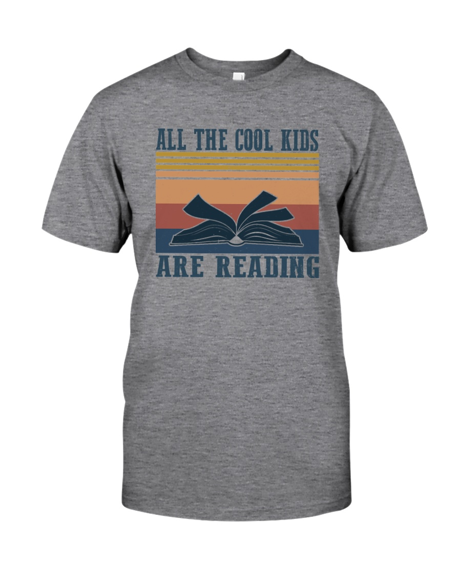 ALL THE COOL KIDS ARE READING Classic T-Shirt