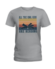 ALL THE COOL KIDS ARE READING Ladies T-Shirt thumbnail