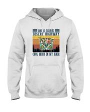 COOL WIND IN MY HAIR Hooded Sweatshirt thumbnail