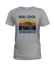 REEL COOL DAD Ladies T-Shirt thumbnail