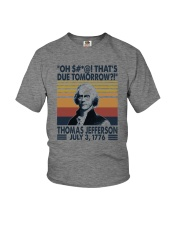 FUNNY THOMAS JEFFERSON QUOTE Youth T-Shirt thumbnail