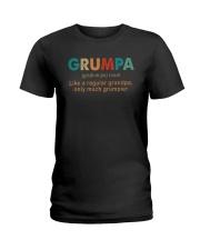 GRUMPA NOUN Ladies T-Shirt thumbnail