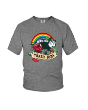 TRASH MOM POSSUM Youth T-Shirt tile