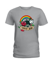 TRASH MOM POSSUM Ladies T-Shirt thumbnail
