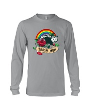 TRASH MOM POSSUM Long Sleeve Tee tile