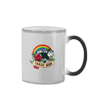 TRASH MOM POSSUM Color Changing Mug tile