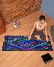 SUN TAPESTRY Yoga Mat 70x24 (horizontal) aos-yoga-mat-lifestyle-19