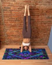 SUN TAPESTRY Yoga Mat 70x24 (horizontal) aos-yoga-mat-lifestyle-20