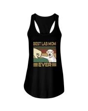 BEST LAB MOM EVER  Ladies Flowy Tank thumbnail