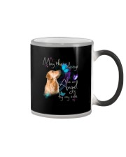 MAY THERE BE AN ANGEL BY MY SIDE GOLDEN RETRIEVER Color Changing Mug thumbnail