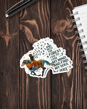 AND INTO THE FOREST  I GO Sticker - 4 pack (Vertical) aos-sticker-4-pack-vertical-lifestyle-front-05