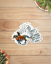 AND INTO THE FOREST  I GO Sticker - 4 pack (Vertical) aos-sticker-4-pack-vertical-lifestyle-front-07