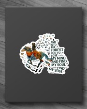 AND INTO THE FOREST  I GO Sticker - 4 pack (Vertical) aos-sticker-4-pack-vertical-lifestyle-front-10