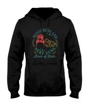 MESSY BUNS AND NERF GUNS Hooded Sweatshirt thumbnail