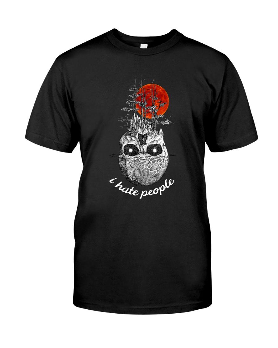 skull hate Classic T-Shirt