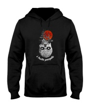 skull hate Hooded Sweatshirt thumbnail