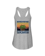 WILLING TO DISCUSS PLANTS 1 Ladies Flowy Tank thumbnail