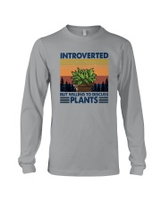 WILLING TO DISCUSS PLANTS 1 Long Sleeve Tee thumbnail