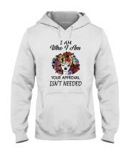 I AM WHO I AM Hooded Sweatshirt tile