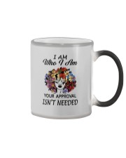 I AM WHO I AM Color Changing Mug tile
