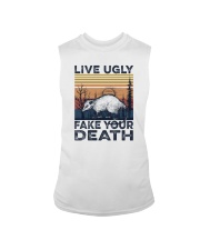 LIVE UGLY FAKE YOUR DEATH a Sleeveless Tee thumbnail